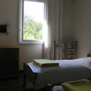 Chambre à deux lits simple Le sentier côté Renée