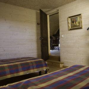 Chambre à deux lits Le Sentier côté Louis