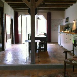 La salle à manger cuisine Le sentier côté Renée